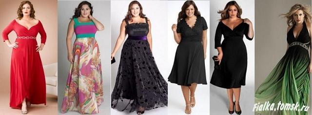 Платья из гипюра для полных женщин, 10 фото лучших моделей.